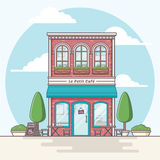 Cafe Building Royalty Free Stock Photography