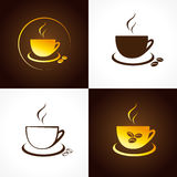 Cafe cup logo. vector illustration