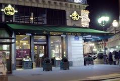 Cafe de la Paix -巴黎 免版税库存图片