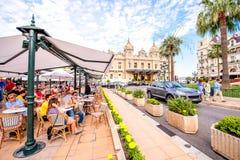 Cafe de Paris in Monaco Royalty Free Stock Photos