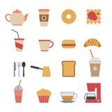 Cafe design elements Royalty Free Stock Photo