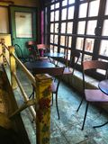 Cafe dining area Stock Image