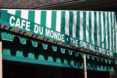 Cafe du Monde Νέα Ορλεάνη Στοκ Φωτογραφίες