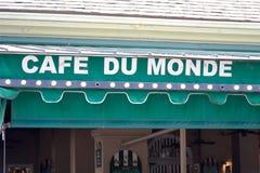 Cafe Du Monde Royalty Free Stock Image