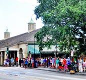 Cafe Du Monde in New Orleans, La Stock Foto's