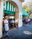 Cafe Du Monde New Orleans Royalty Free Stock Photos