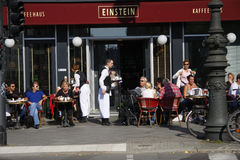 Cafe Einstein Stock Images