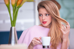 In cafe Stock Images