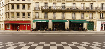 Cafe exterior Stock Photography