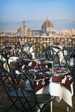 Cafe in Florencia Royalty Free Stock Photo