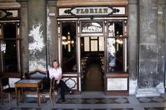 Cafe Florian Stock Image
