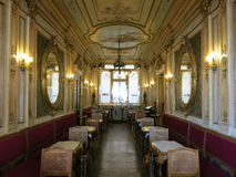 Cafe Florian interior, Venice stock photos