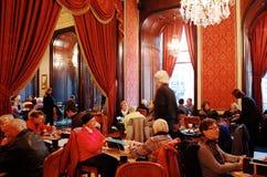 Cafe Gerbeaud Stock Photo