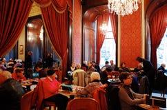 Cafe Gerbeaud Stock Photography