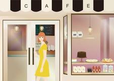 CAFE&GIRL Stock Photos