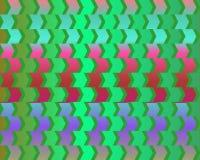 cafe green illusion optical red variant wall ελεύθερη απεικόνιση δικαιώματος
