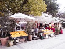 Cafe in hiroshima japan stock photo