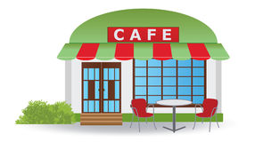 Cafe house Stock Image