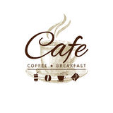 Cafe icon Royalty Free Stock Image