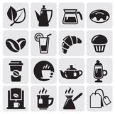 Cafe icons Royalty Free Stock Image
