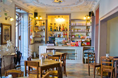 Cafe indoor Royalty Free Stock Images