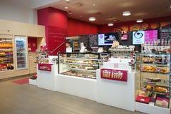 Cafe inetrior Stock Photo