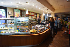 Cafe inetrior Stock Images