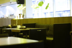 Cafe Interier 5. Interier elements Royalty Free Stock Images