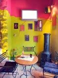Cafe interior Stock Photos