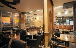 Cafe interior Royalty Free Stock Image