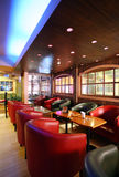 Cafe Interior. Modern interior of a cafe Royalty Free Stock Images