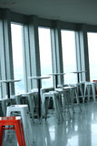 Cafe interior at Namsan Hill Tower Royalty Free Stock Image