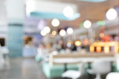 Cafe interior. Out of focus - defocused background royalty free stock images