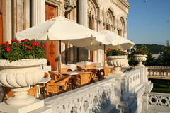 cafe Istanbul indyk Zdjęcie Stock
