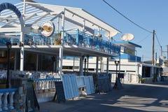 Cafe in Kefalos Royalty Free Stock Photos