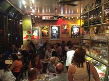 Cafe Lalo in New York City Stock Photos