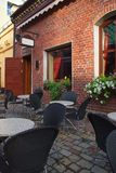 cafe lato Zdjęcia Royalty Free
