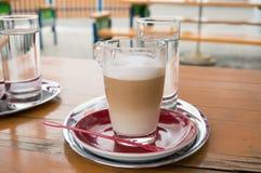 Cafe latte Royalty Free Stock Photo