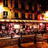 Cafe Le Bonaparte. Paris stock images