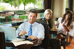 Cafe life Royalty Free Stock Photography