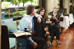Cafe life Stock Photos