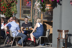 Cafe life Stock Photo