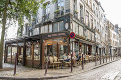 Cafe in Lille Royalty Free Stock Image