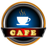 Cafe Logo Royalty Free Stock Images