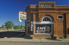 Cafe in Magdalena, NM Royalty Free Stock Photo