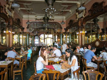 Cafe Majestic in Porto Stock Photography