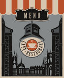cafe menu Royalty Free Stock Photo