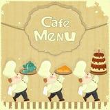 Cafe Menu Card Stock Photo