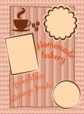 Cafe Menu Card Stock Image