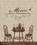 Cafe menu Stock Photos
